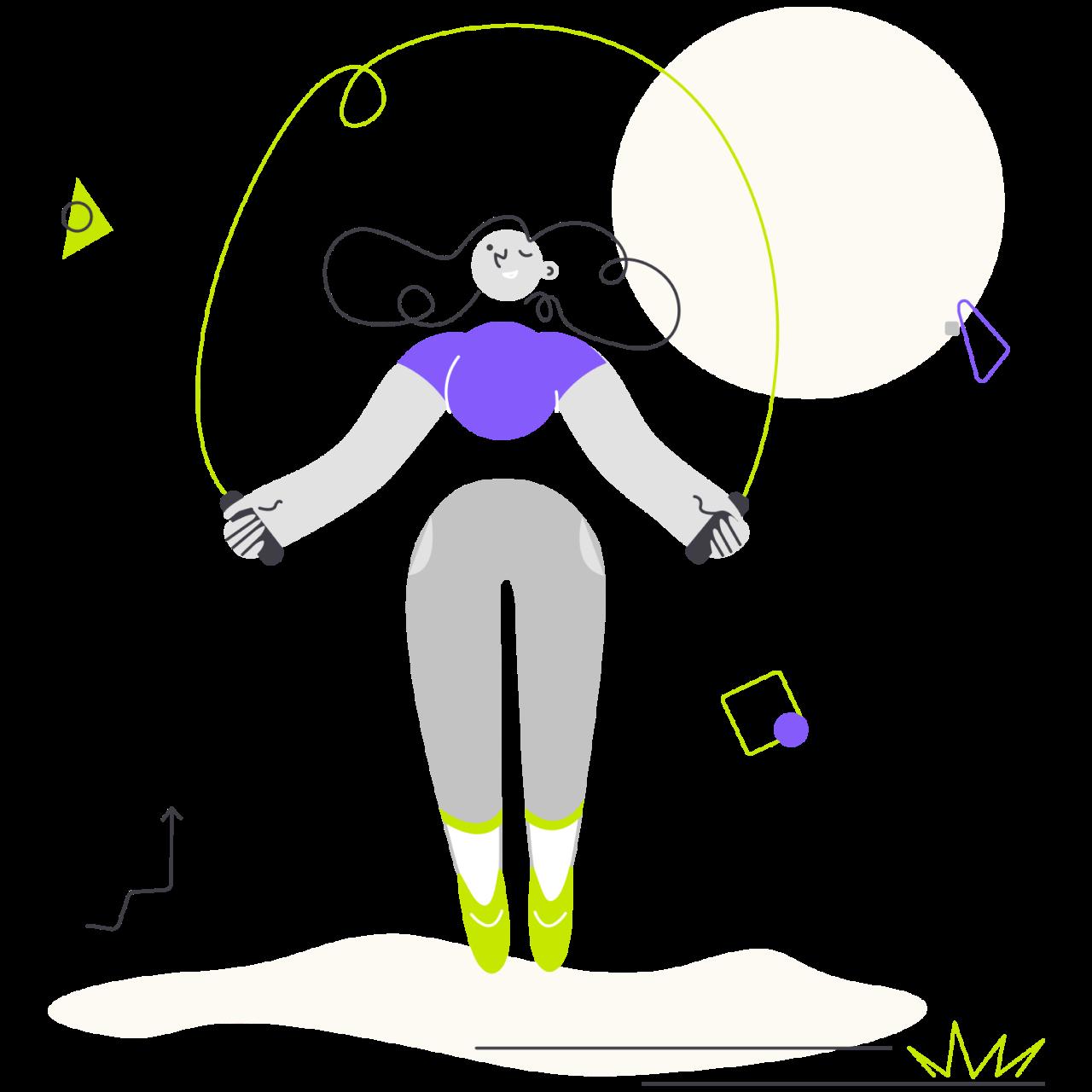 Обложка набора иллюстраций Yollo спортивные иллюстрации и картинки