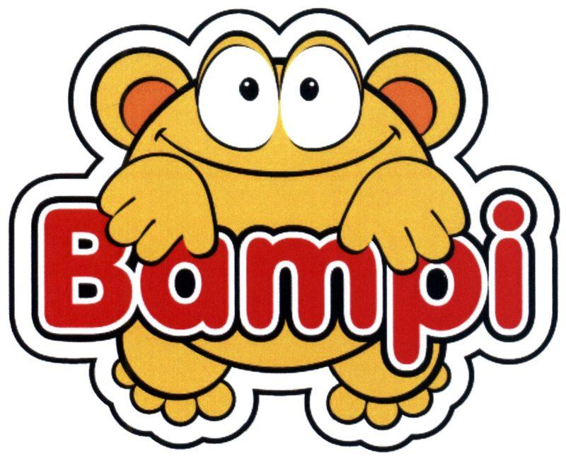Логотип компании BAMPI зарегистрированный в качестве товарного знака.