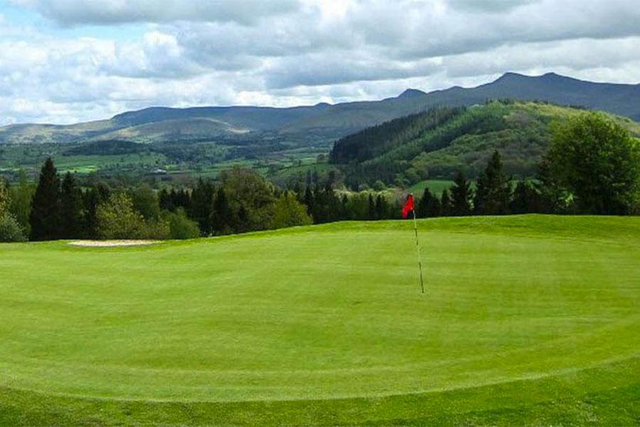 Hole at Cradoc Golf Club
