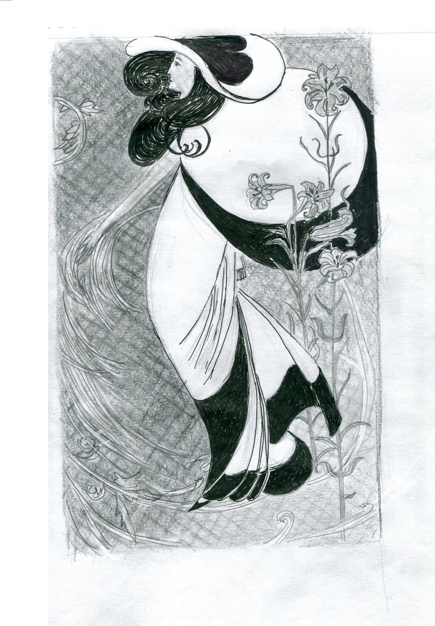kitchen-beardsley-peacock-skirt