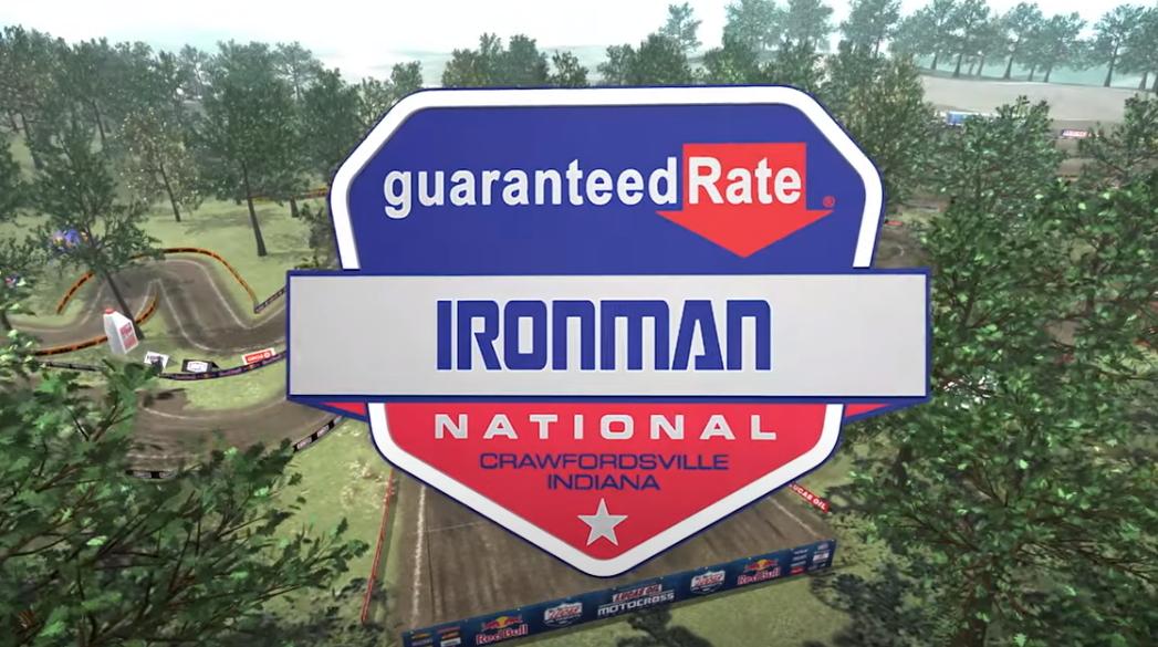 АМА Мотокросс 2021: Анимация трека Ironman