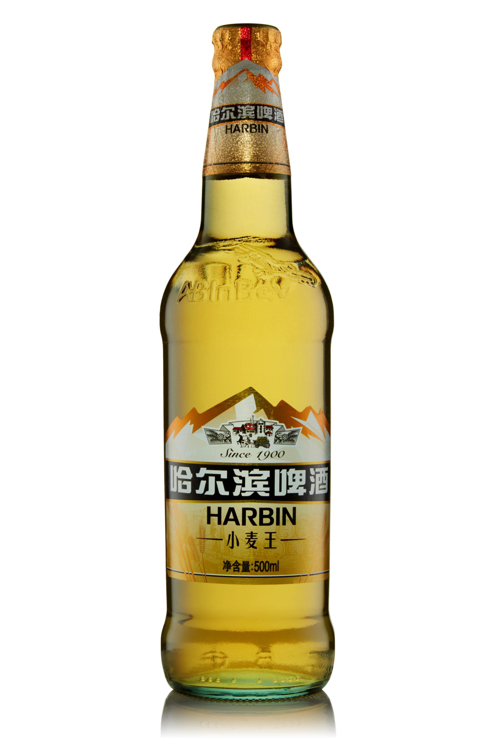 Купить пиво оптом Харбин Пшеничное 500 мл ст/б