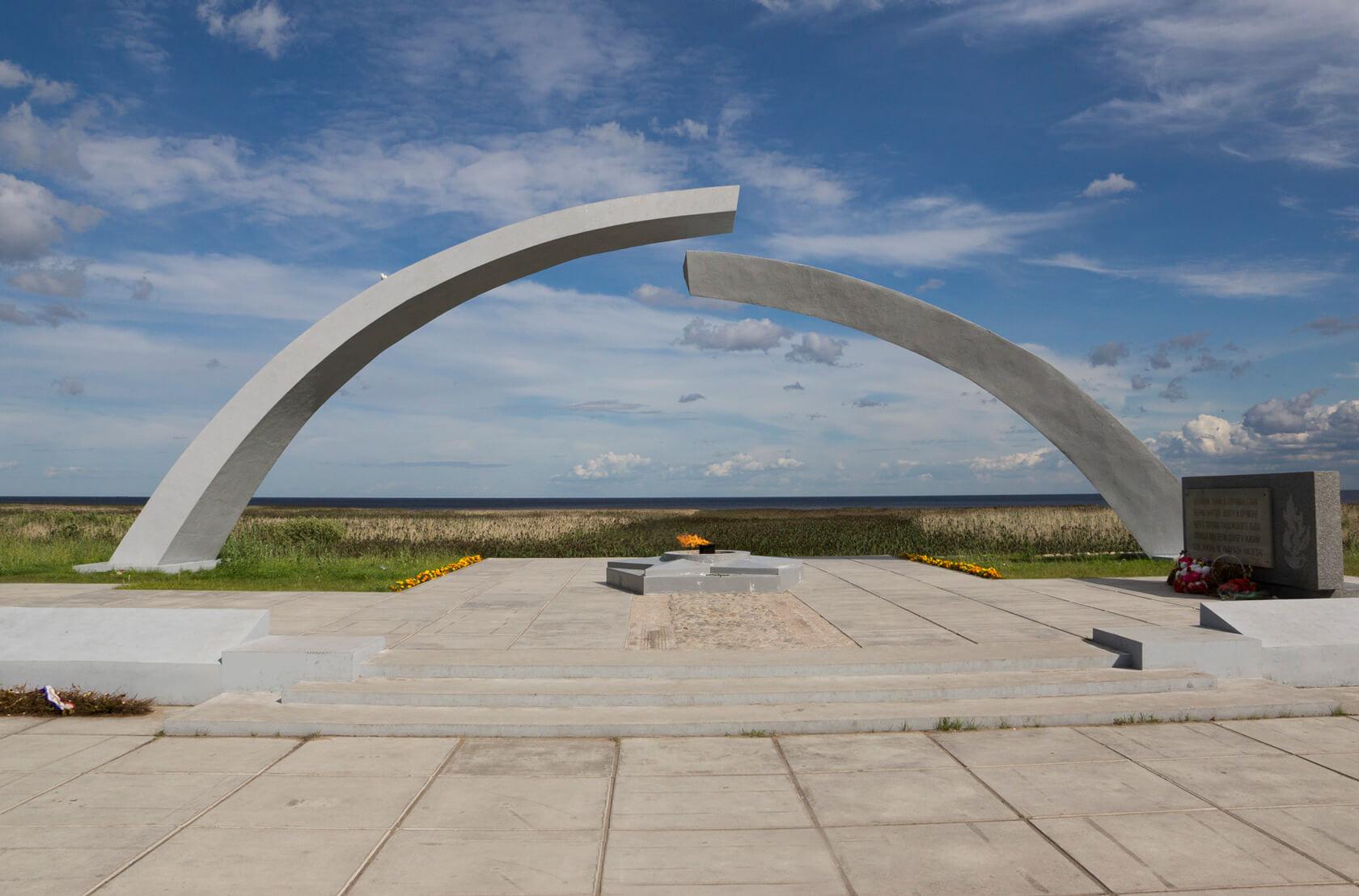 Ладожское озеро Разорванное кольцо