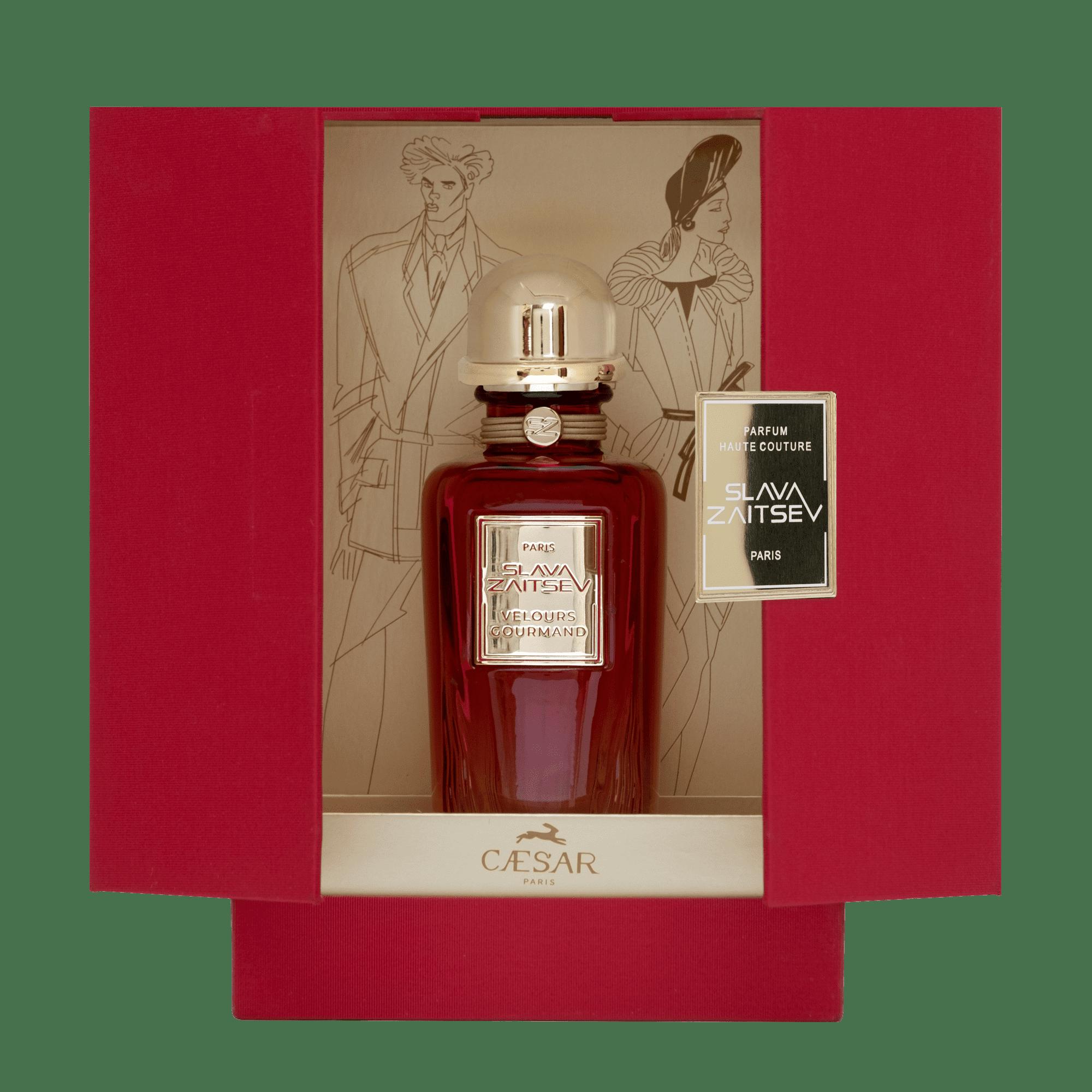 Упаковка духов Слава Зайцев - Изысканный бархат