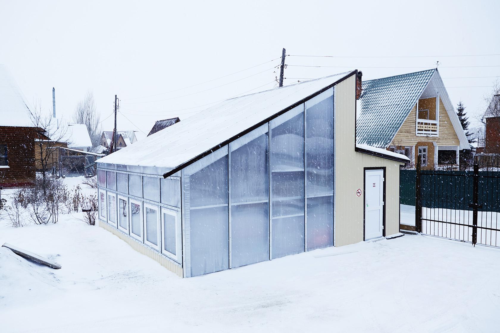Private greenhouse, Novosibirsk, Zaeltsovskiy bor