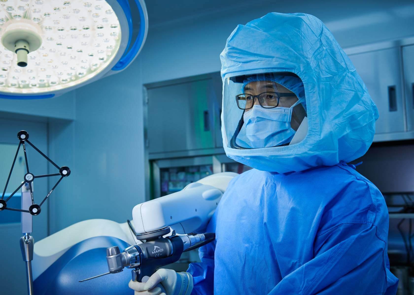 Операция в ортопедическом отделении Химчан