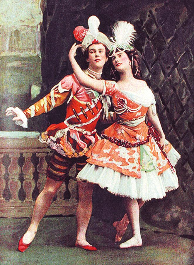 Вацлав Нижинский и Анна Павлова