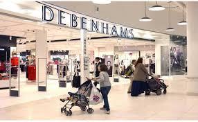 люксовый универмаг Debenhams