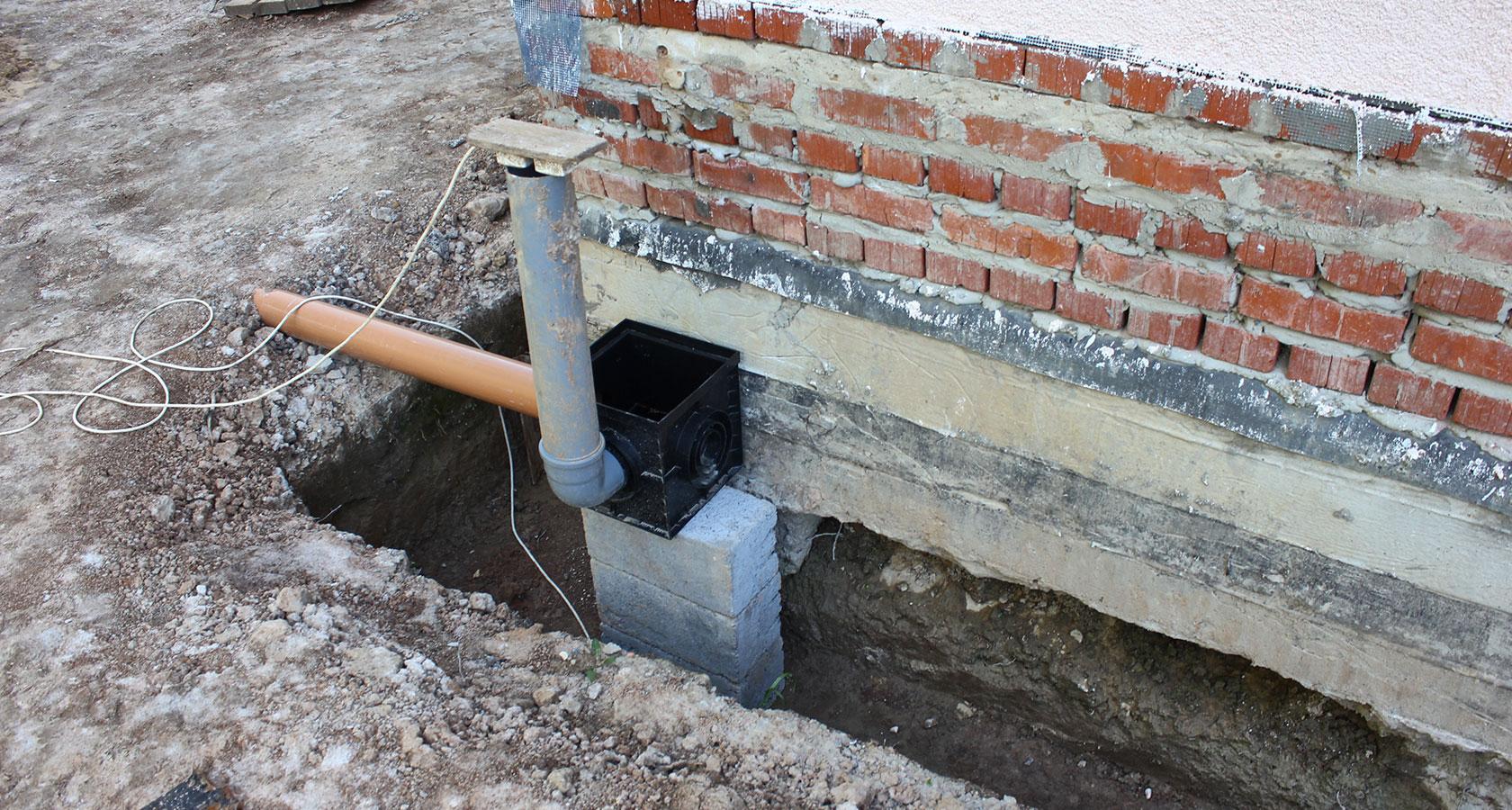 глубина фундамента для бани из керамзитобетонных блоков