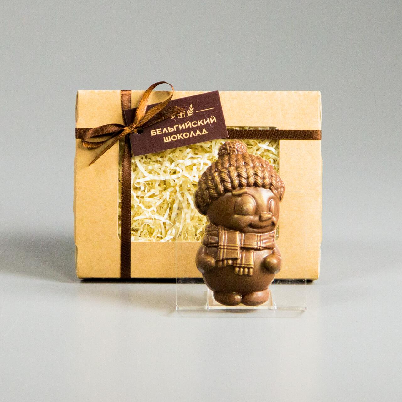 Шоколадная фигурка «Мальчик в шапочке»