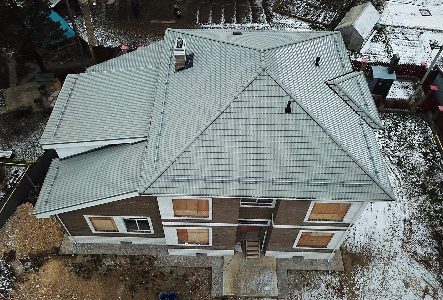 крыша под ключ