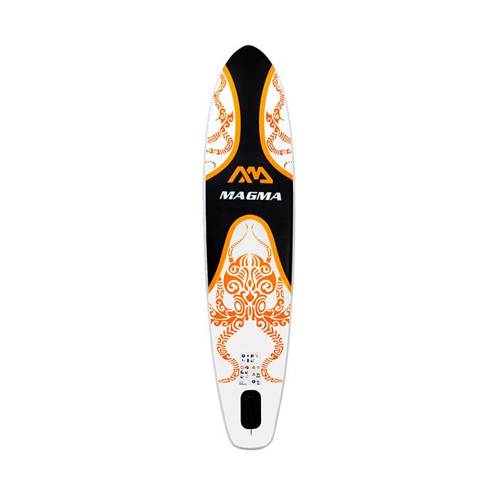 Купить SUP-доску Aqua Marina MAGMA White/Orange