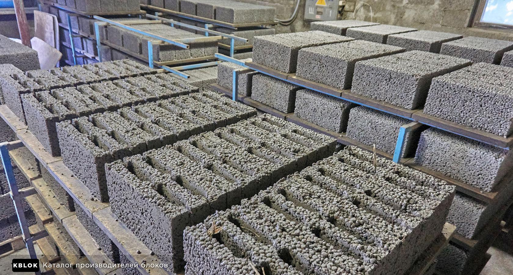 керамзитобетонные блоки производство