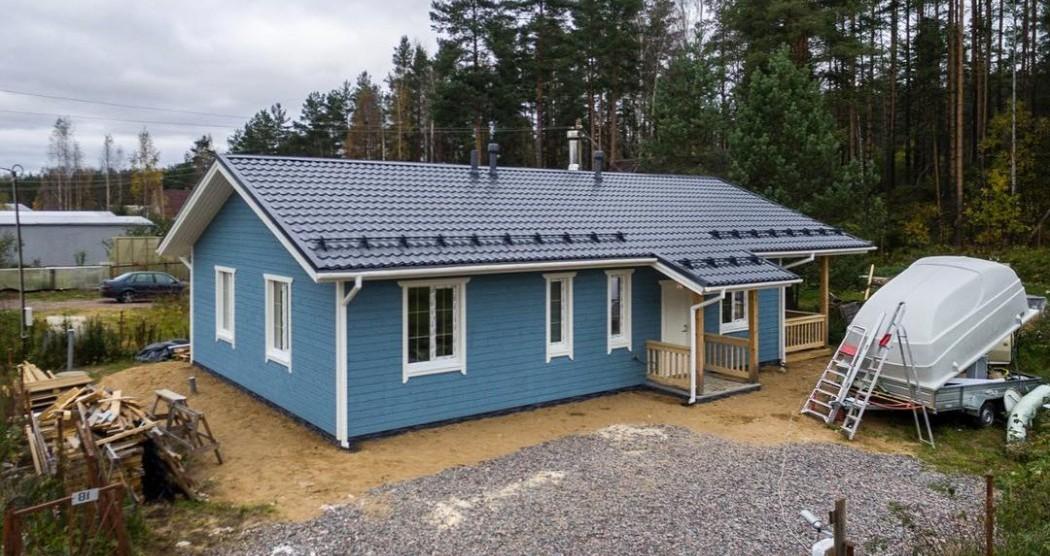 Строительство скандинавских каркасных домов