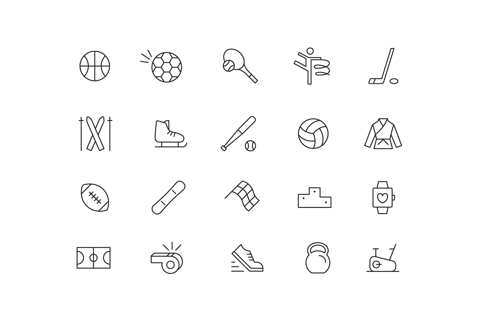 "Icons ""Sport"""