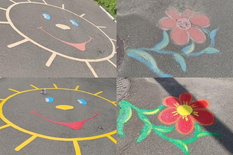 партия шария раскрасила площадки в детском доме березка - фото