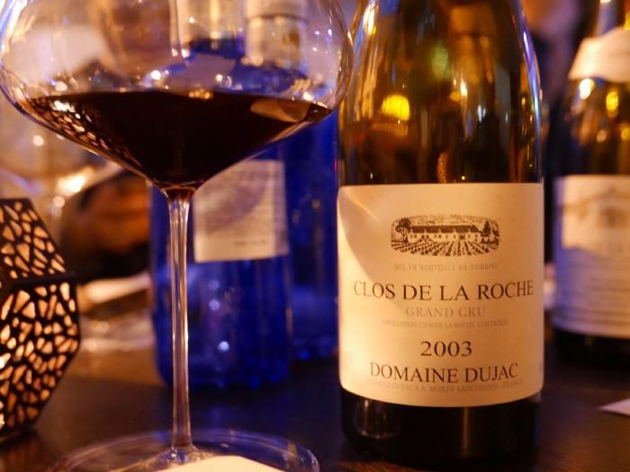 2003 Domaine Dujac Clos de la Roche