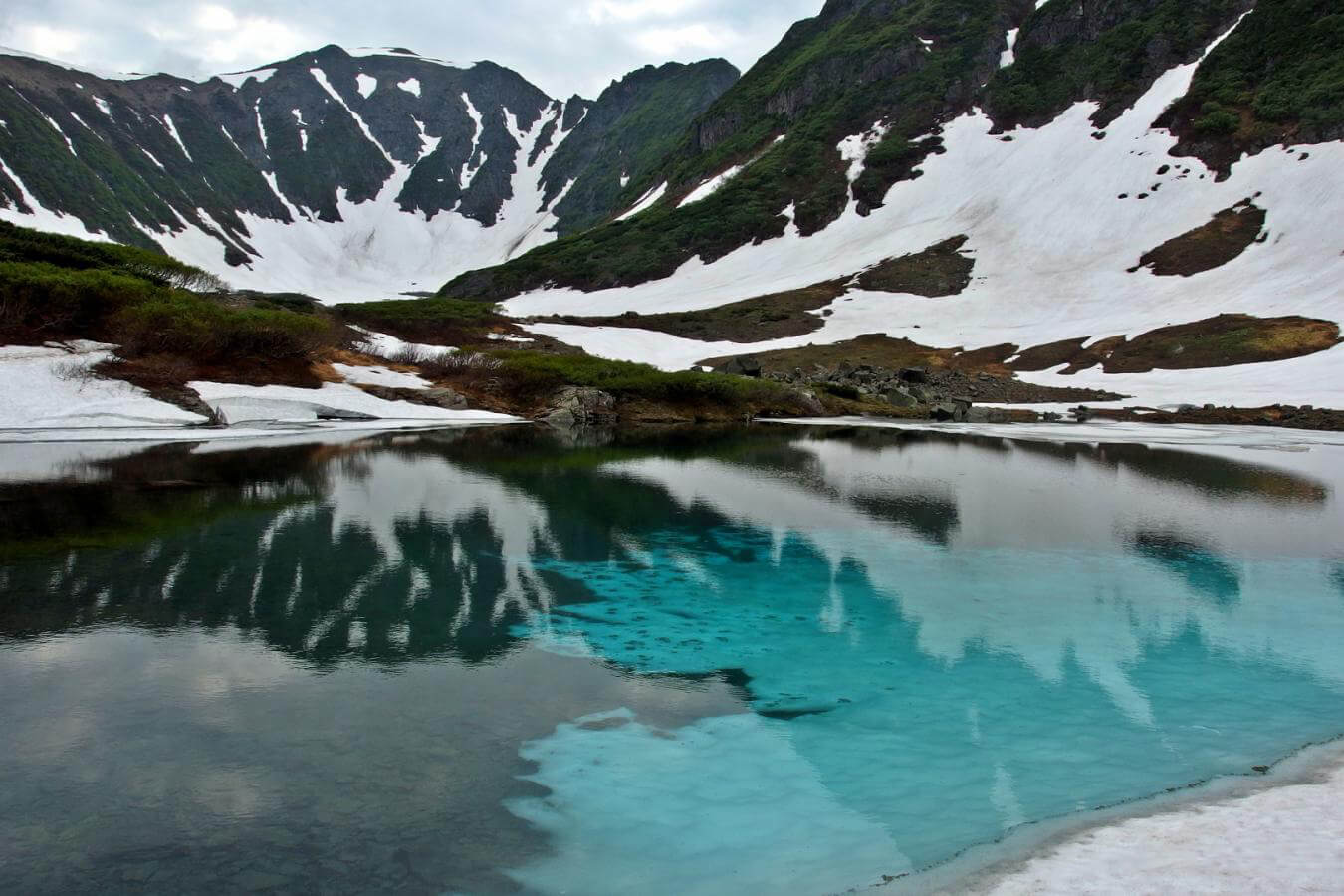 Природный парк Голубые озёра