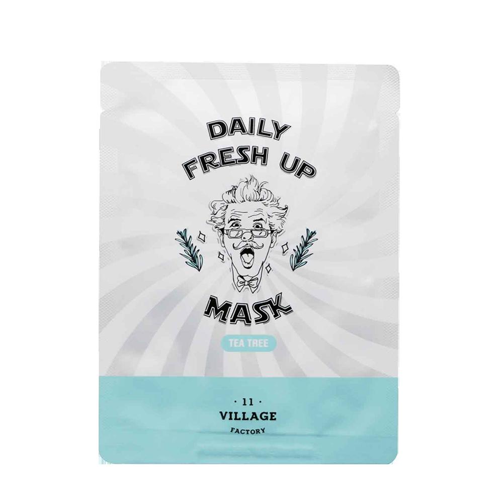 Купить Village 11 Factory Daily Fresh Up Mask Tea Tree, VLF004