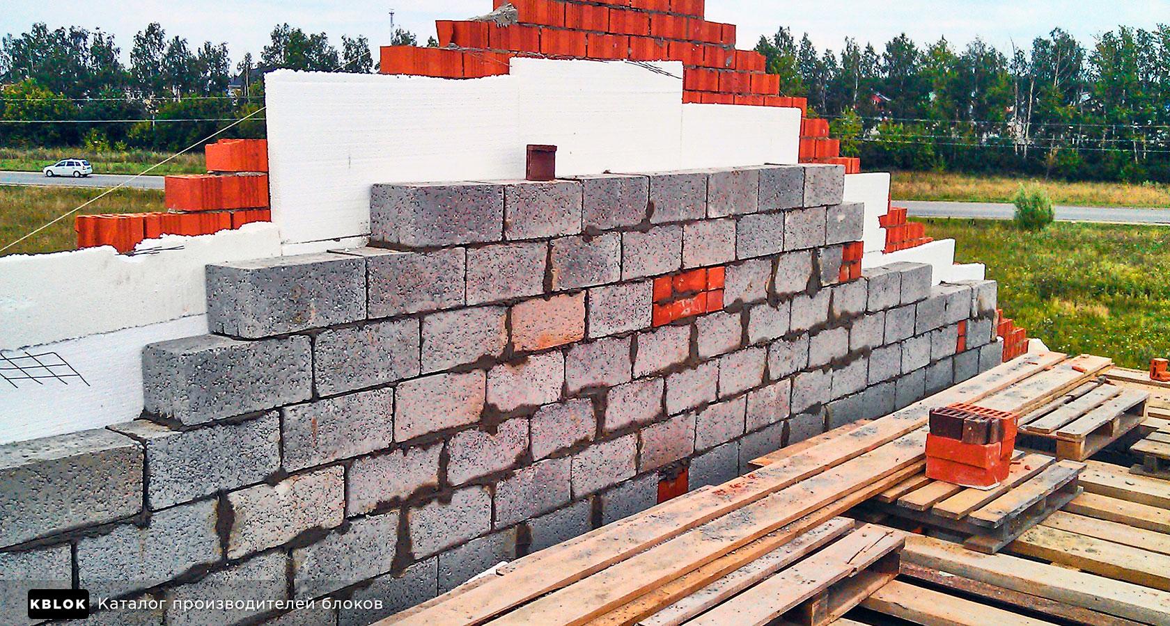 утепление керамзитобетона кладка стены