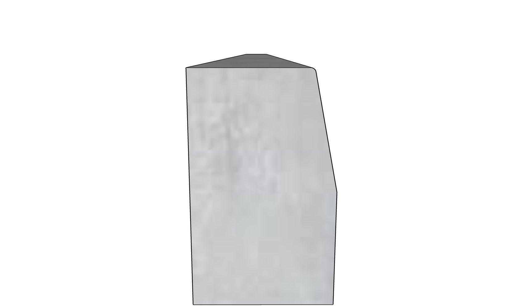 Бордюрный камень БР-300-30-18