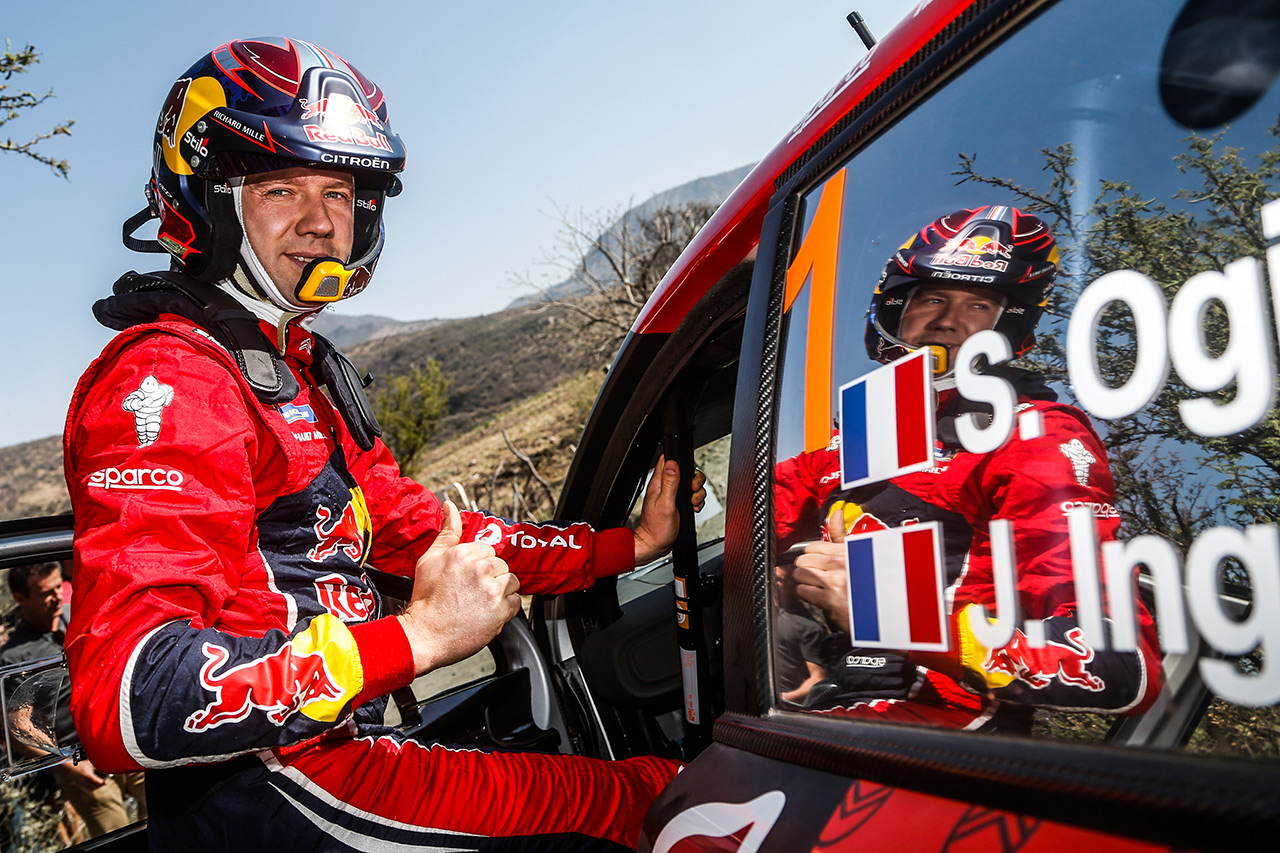 Себастьен Ожье, Citroen C3 WRC, ралли Мексика 2019