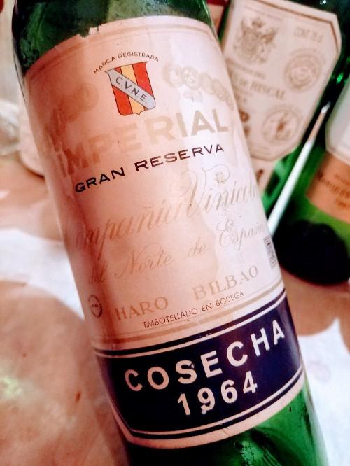 C.V.N.E. Rioja Imperial Gran Reserva 1964