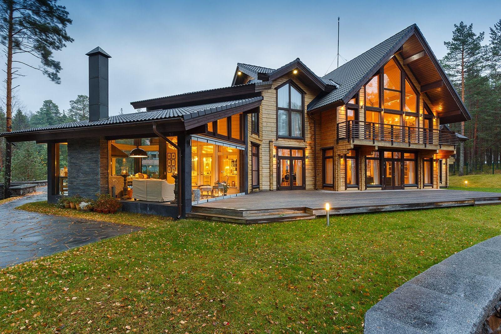 проект дома из клееного бруса фото сшить