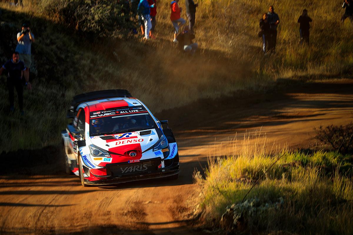 Себастьен Ожье и Жюльен Инграссиа, Toyota Yaris WRC, ралли Акрополь 2021