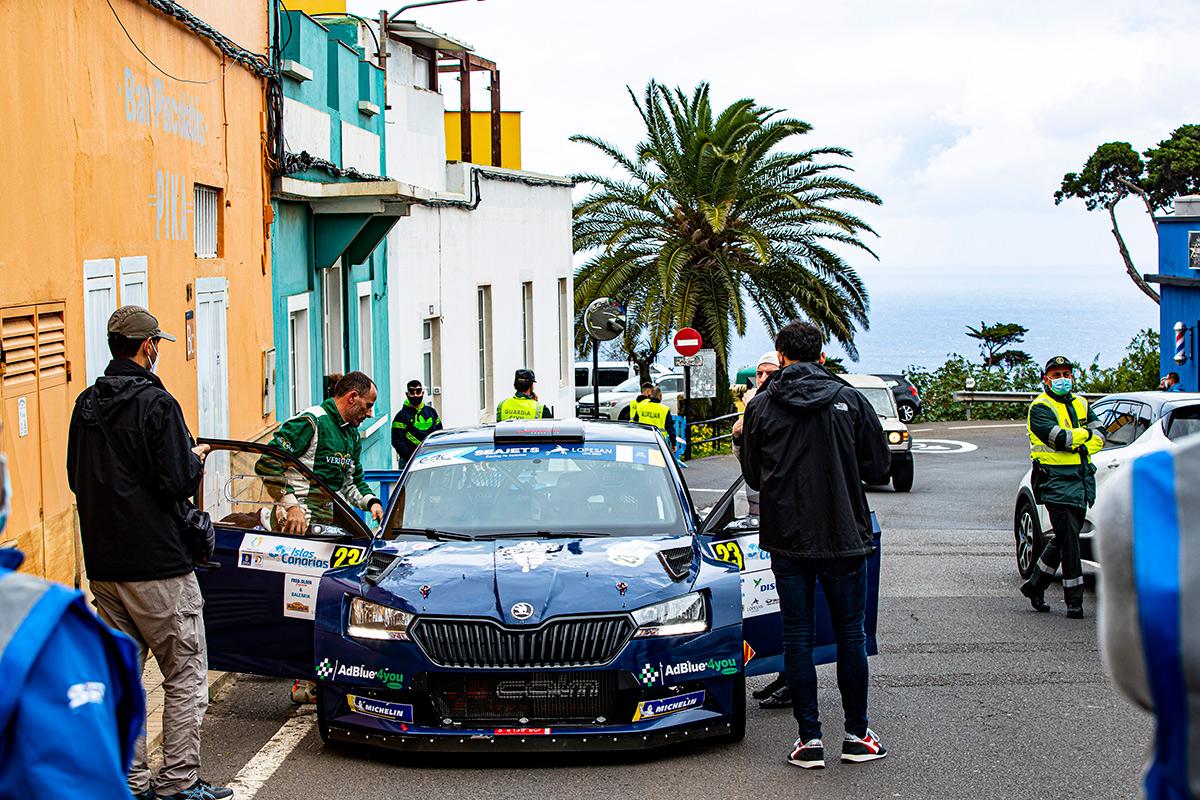 Ниль Соланс и Марк Марти, Skoda Fabia Rally2 evo, Rally Islas Canarias 2020