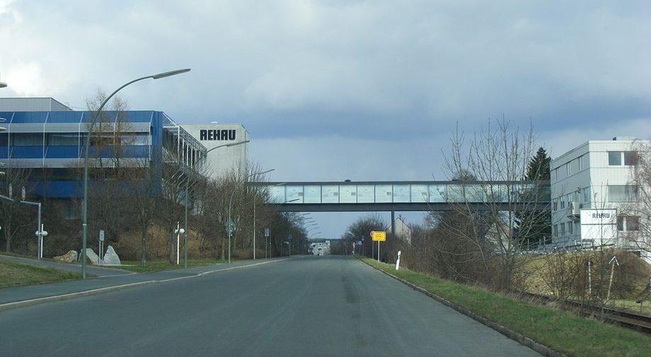 Rehau завод в Германии