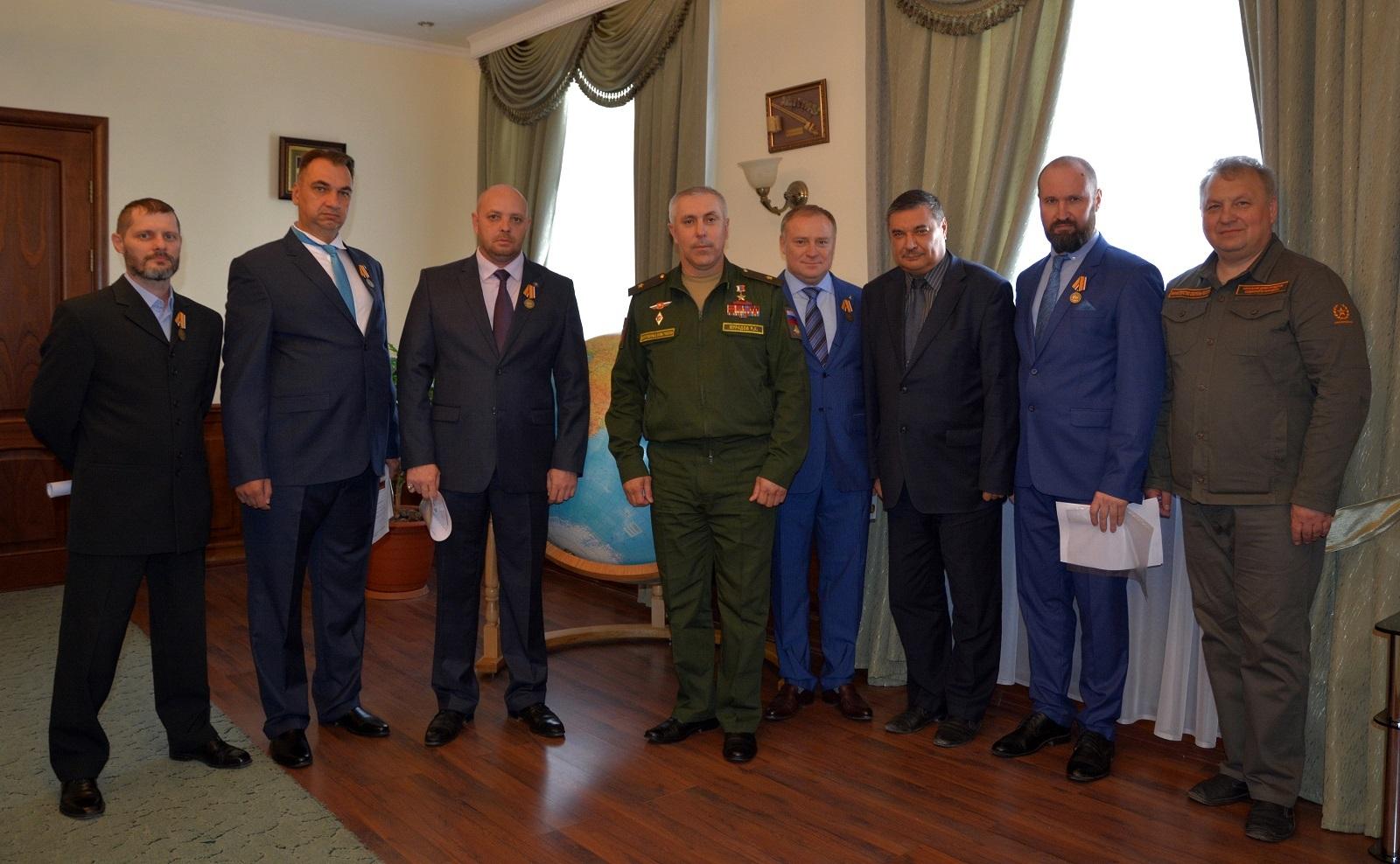 Медаль участник военной операции в Сирии