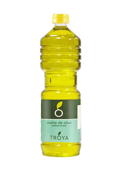 Масло, оливковое, рафинированное, ТРОЯ, 1л