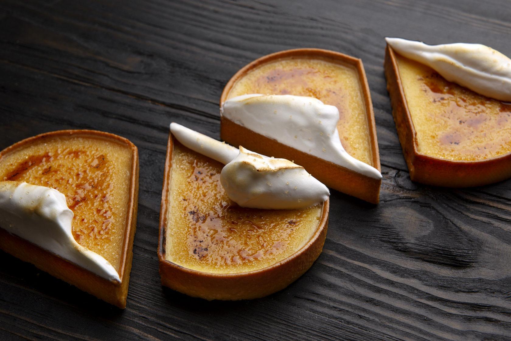 dessert triangle