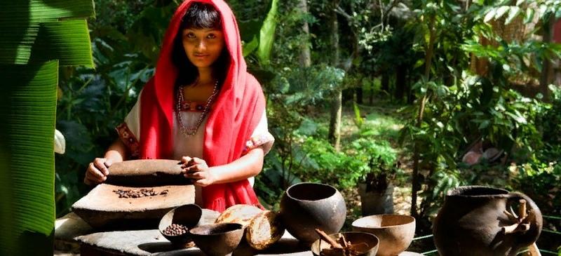 Xocoatl - Горячий шоколад индейцев майя