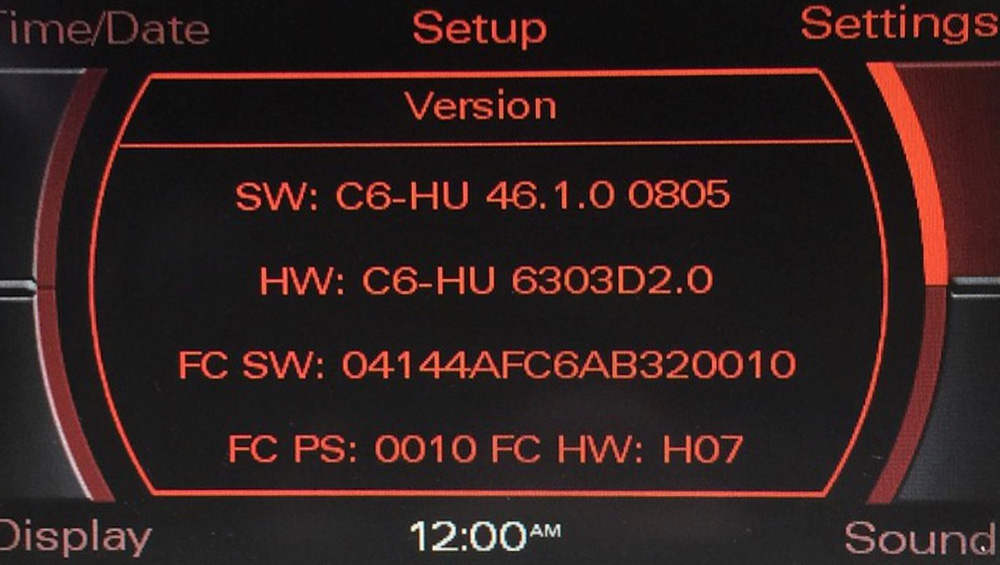 audi,MMI, MMI2G, 2G+, hight, system, radio, head, unit, screen, lcd, menu, software, version, update, how to, install