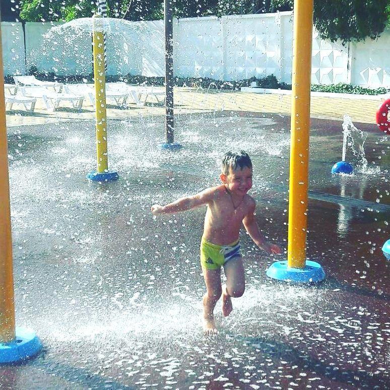 Зона для детей до 3 лет в аквапарке Черномор