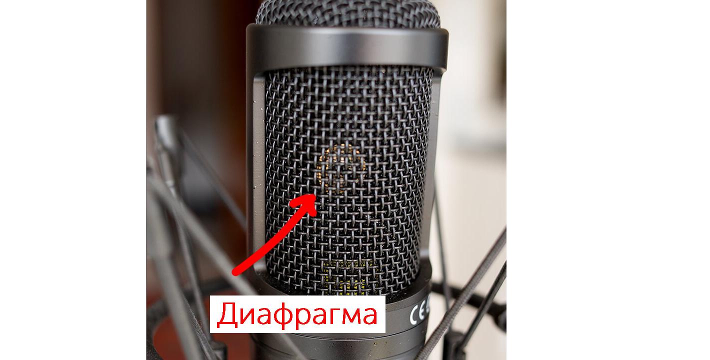 диафрагма микрофона