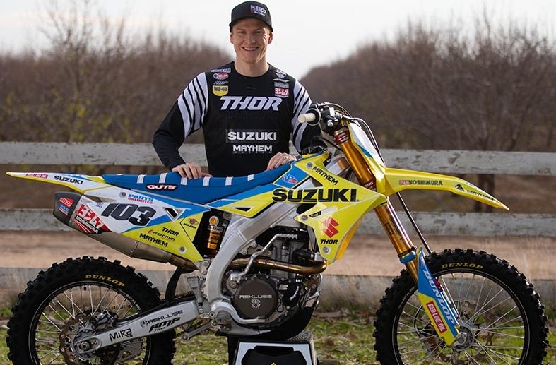 Макс Ансти возобновил тренировки на мотоцикле