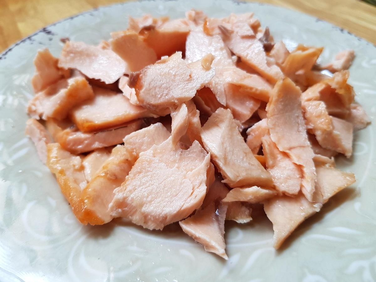 Семга (лосось) для ризотто (рис со сливками). Вкусный Израиль.
