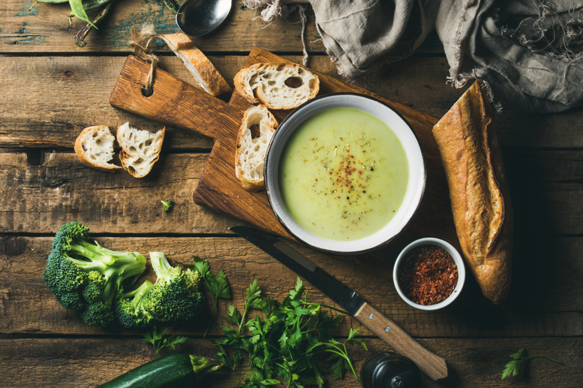 Крем супа с млечен грах Krina