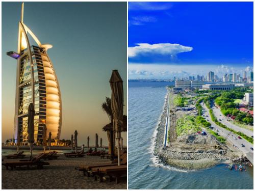 Дубай, Манила в ноябре