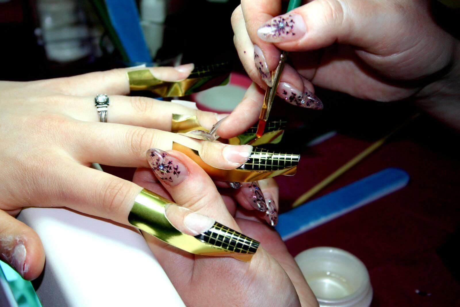 Инструкция наращивания ногтей гелем для начинающих