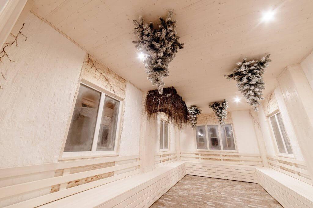 Парк-отель Солнечный снежный домик