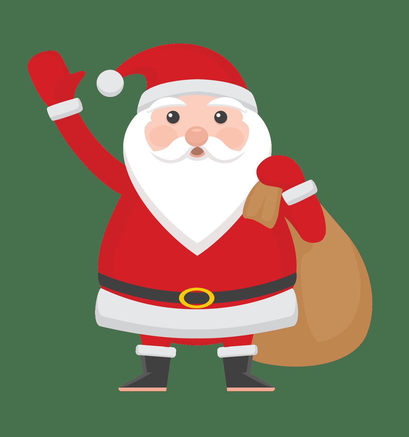 Санта клауса картинки