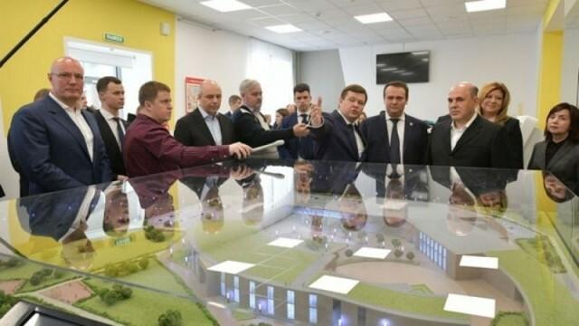 Михаилу Мишустину презентовали проект Новгородской технической школы