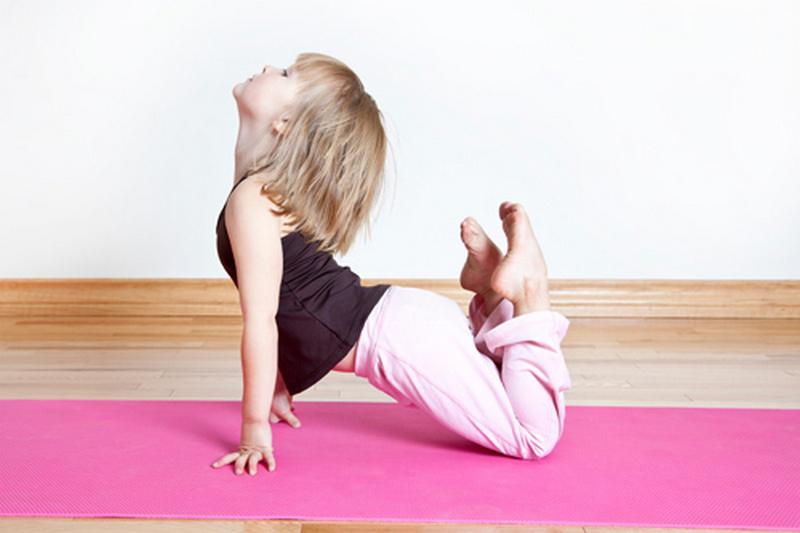 Занятия для детей в йога студии