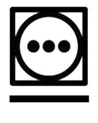 Сушилня с високо нагряване при програма за предотвратяване на намачкването - символ на етикет на дреха