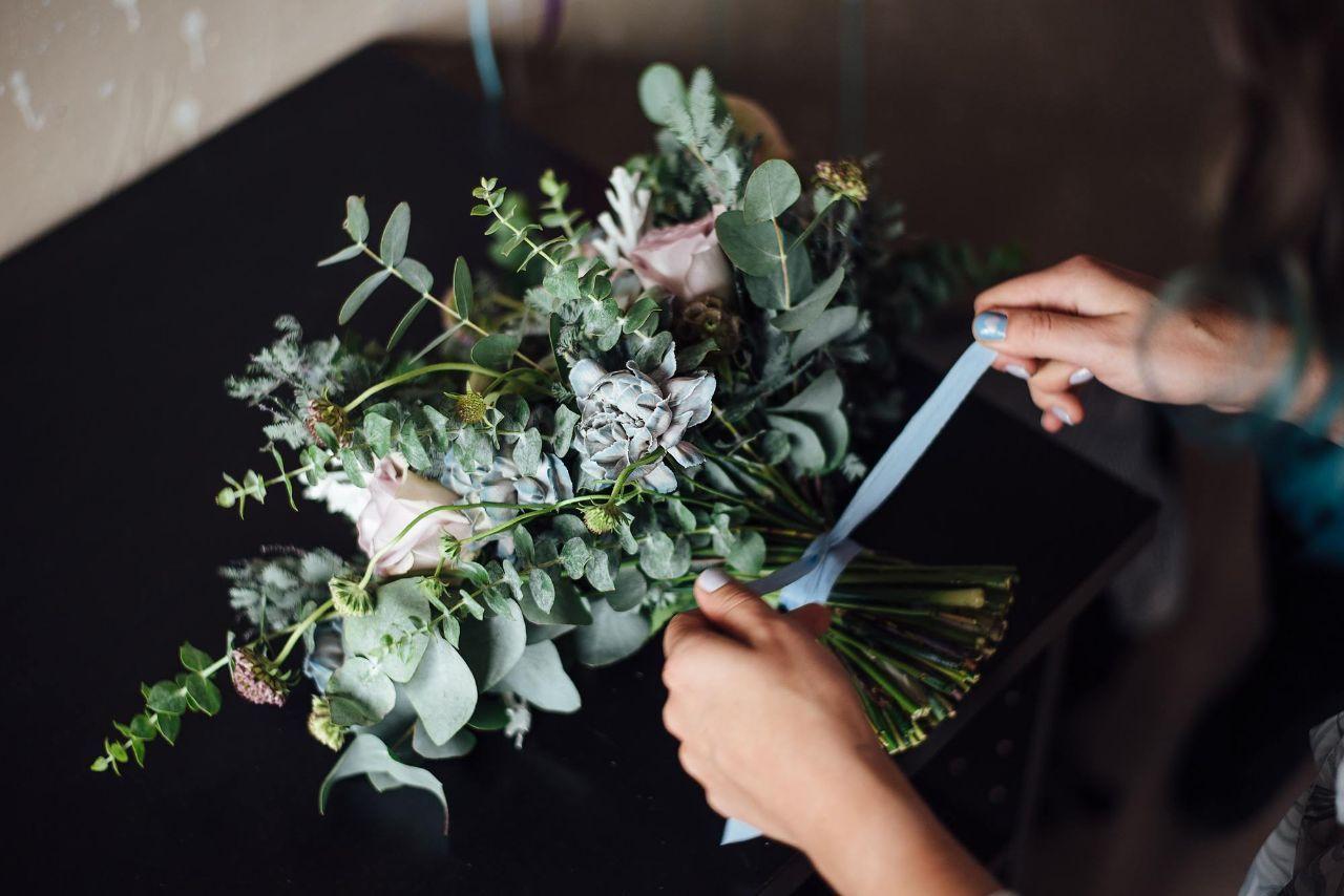 Профессиональные букеты флористика фото, букет невесты орхидеей
