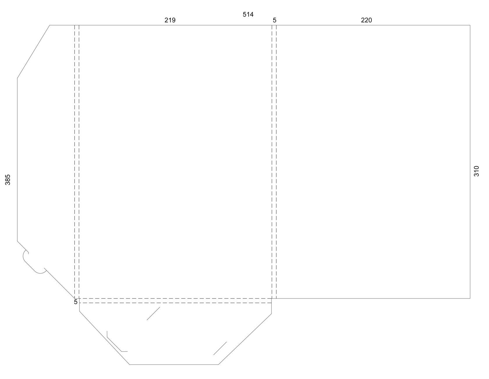 Сделать, макет открытки в печать